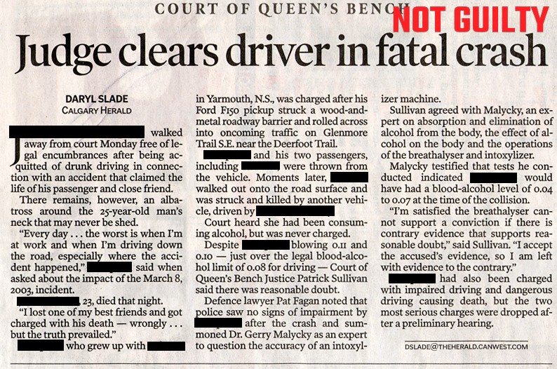 Judge Clears Driver